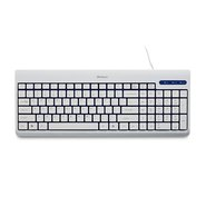 White USB Corded Keyboard
