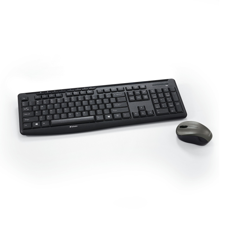 Silent Wireless Mouse and Keyboard